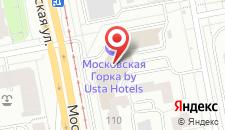 Отель Московская горка на карте