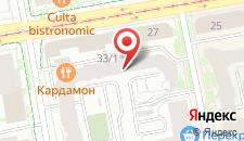 Гостиница ЕВРотель Центральный на карте