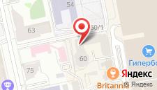 Хостел ЛОНДОН на карте