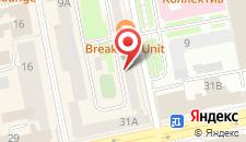 Отель Gold на карте