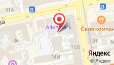 Отель Radius Central House на карте