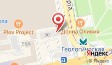 Отель Реноме на карте
