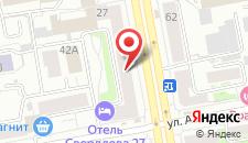 Капсульный отель Орион на карте