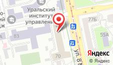 Отель Протекс на карте