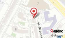 Хостел RedLine hostel на карте