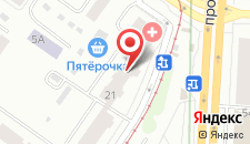 Мини-гостиница Визит на карте
