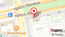 Гостиница Гранд Авеню на карте