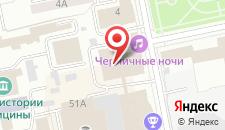 Отель Антей на карте