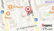 Хостел Никольский на карте