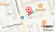 Арт-отель Артотель MILO на карте