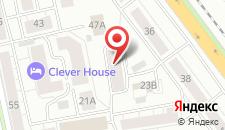 Гостиница Sport Hotel на карте