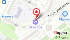 Мини-гостиница Вавилон на карте