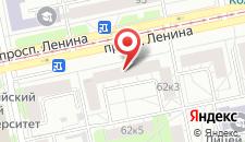 Арт Хостел На Ленина на карте