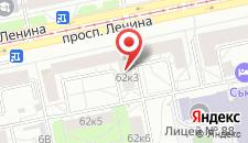Мини-отель Loft на карте