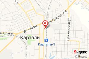 Адрес Водоканал на карте