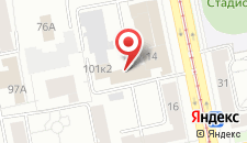 Хостел Аррива на карте