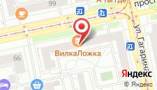 Хостел Аврора на Ленина на карте