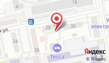 Отель Тесса на карте