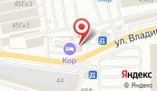 Гостиница КОР на карте