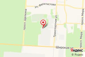 Адрес Трансэнерго на карте