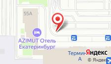 Отель Angelo на карте