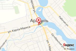 Адрес Арамильский офис продаж и обслуживания клиентов на карте