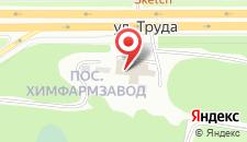 Гостиница Тишина на карте