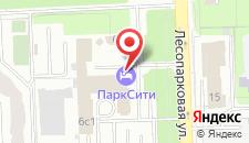 Отель ПаркСити на карте
