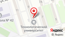 Гостиница Утёс на карте