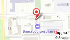 Отель Электростальская на карте
