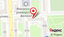 Мини-отель В центре на карте