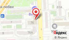 Гостиница Визитъ на карте