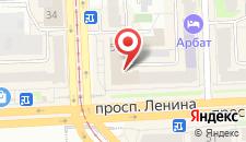 Отель Южный Урал на карте