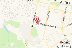 Адрес Газпром газораспределение Екатеринбург, абонентский отдел в г. Асбест на карте