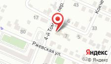 Гостиница СВ на карте