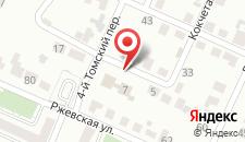 Отель СВ на карте