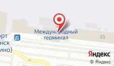 Гостиница Аэропорт отель на карте