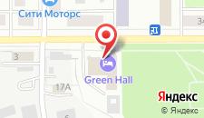 Гостиница Green Hall на карте