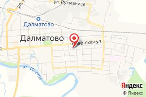 Адрес Шадринскмежрайгаз на карте