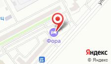 Отель Клуб Отель Фора на карте