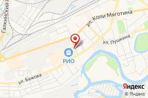 Адрес Высотник и К на карте