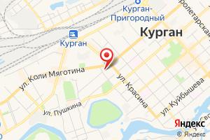 Адрес Газпром газораспределение Курган на карте