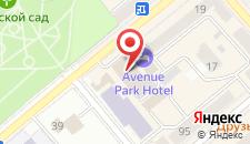 Отель Есенин на карте