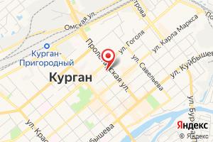 Адрес Газпром межрегионгаз, абонентская служба, Курганский участок, пункт Курган на карте