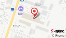 Отель Кот на карте