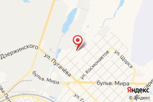 Адрес Кургангоргаз, Цадс на карте