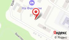 Гостиничный комплекс На Финском на карте