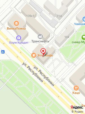 Японский ресторан Тсуру на карте
