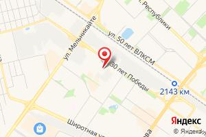 Адрес Тюмень Водоканал на карте