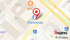 Гостиница Mercure Тюмень Центр на карте